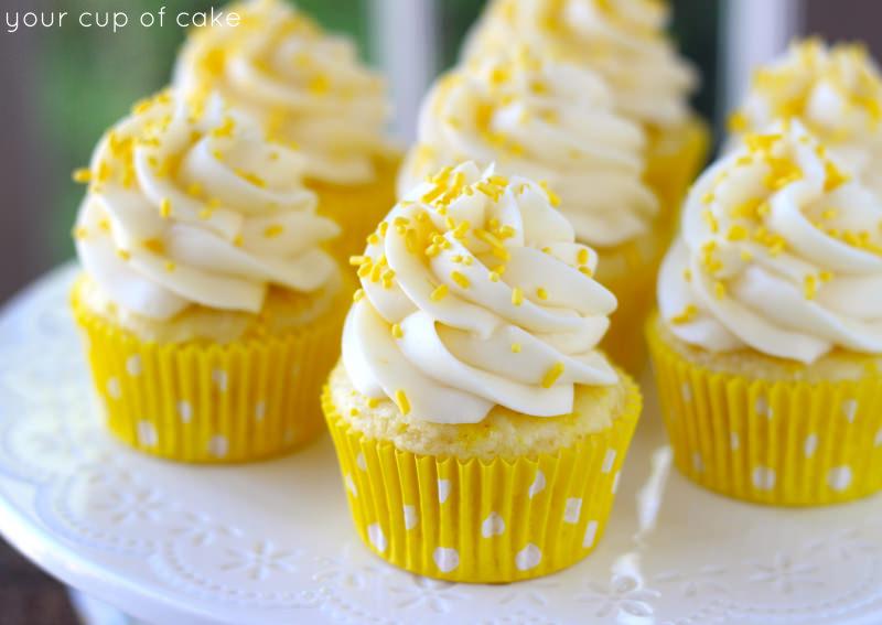 7 Photos of Lemon Cream Cupcakes