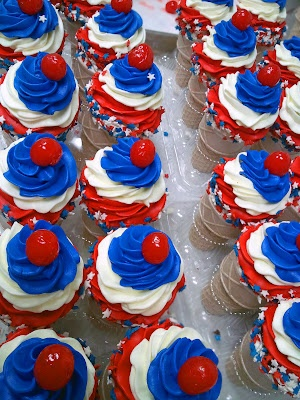 Memorial Day Cupcakes