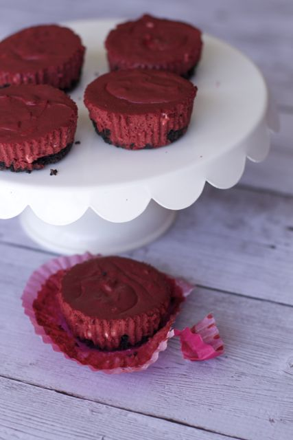 Mini Red Velvet Cheesecake Recipe