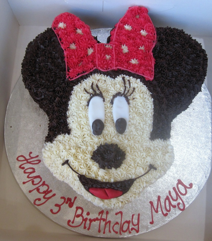 10 Photos of Minnie Mouse Cakes With Icing