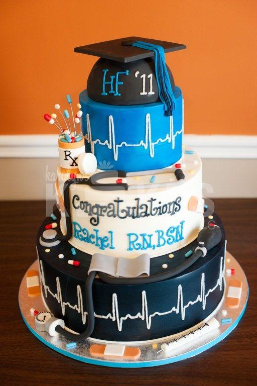 12 Photos of Nursing School Graduation Cakes