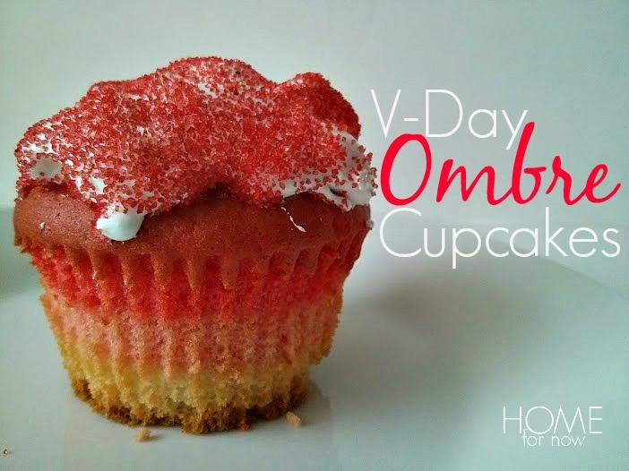 Ombre Cupcakes Recipe