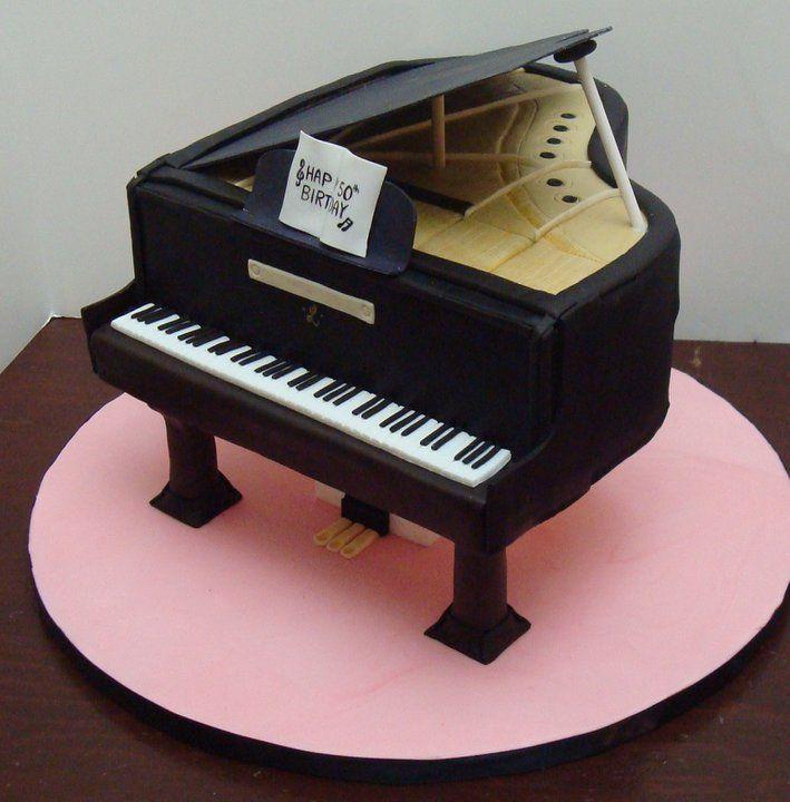 11 Photos of Piano Fondant Wedding Cakes