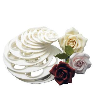 11 Photos of Rose Cakes Fondant And Gum Paste Decoration