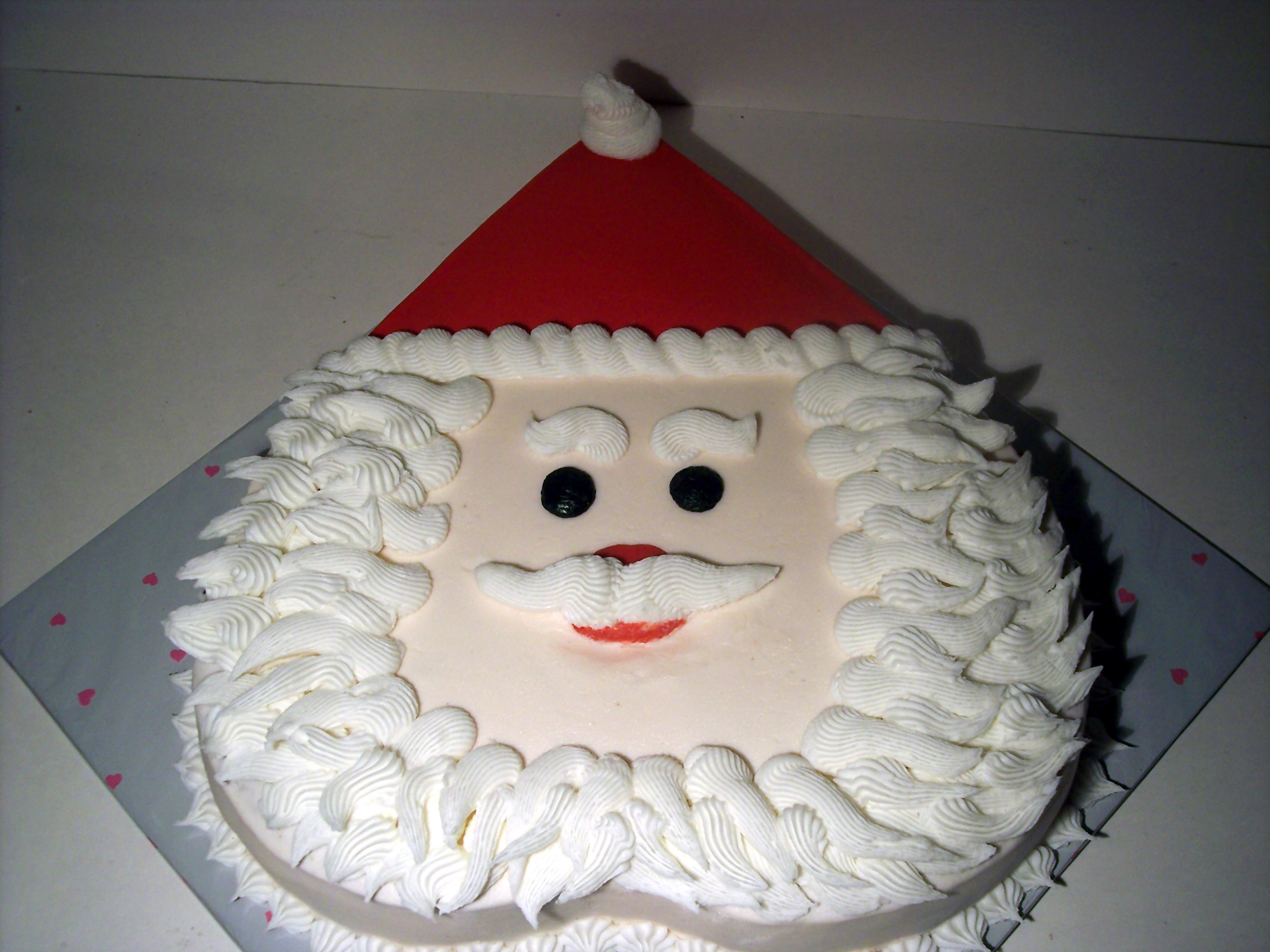 11 Photos of Santa Decorated Cakes