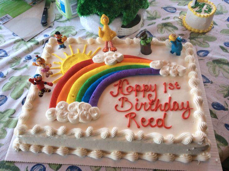 Sesame Street Birthday Cake Costco