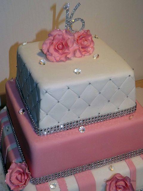Super 10 Tall Sweet Sixteen Cakes For Girls Photo Simple Sweet 16 Funny Birthday Cards Online Kookostrdamsfinfo