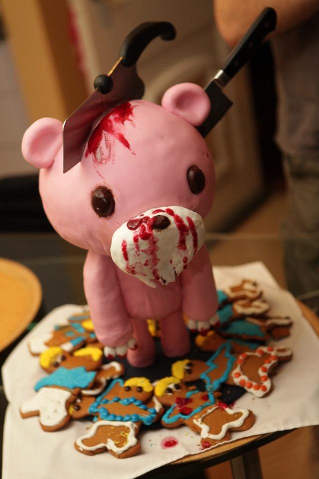 Amazing 6 Scary Looking Cakes Photo Super Creepy Cake Horror Birthday Funny Birthday Cards Online Inifofree Goldxyz