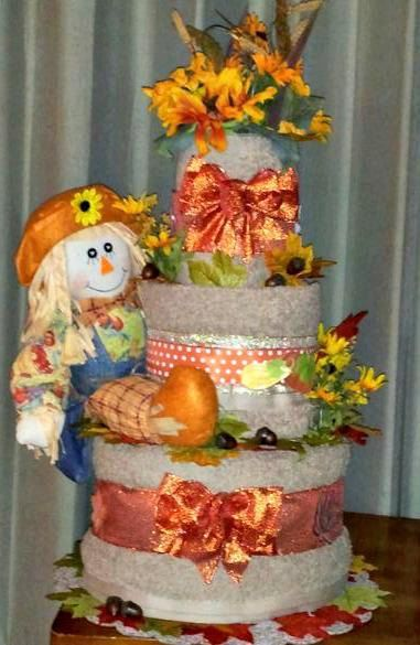 Towel Cake Ideas