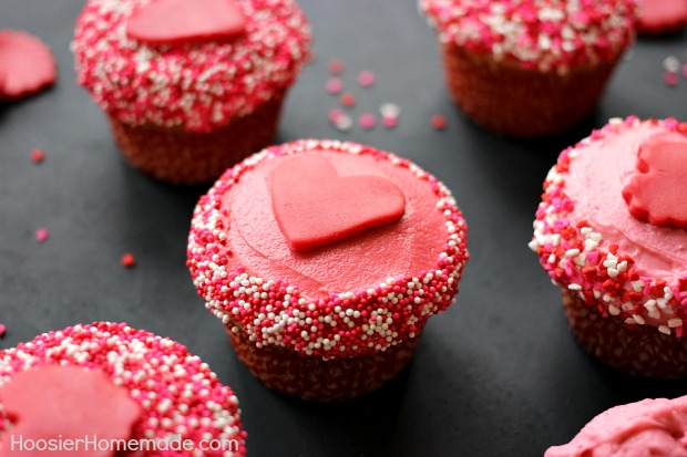 Valentine Day Cupcake Recipe