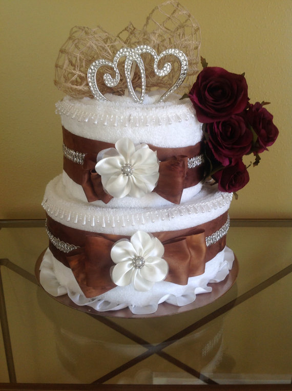 Wedding Cake Fall Colors