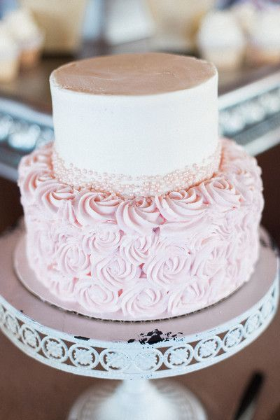 2 Tier Wedding Cake Ideas