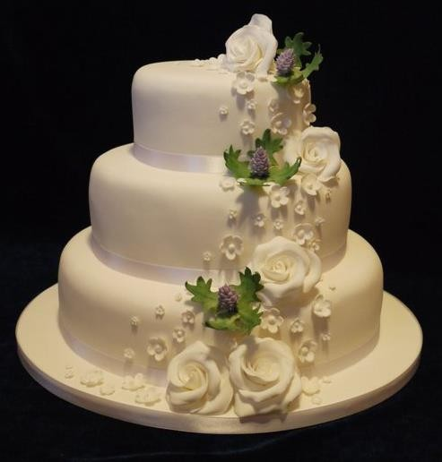 3 Tier Wedding Cakes for 150 People