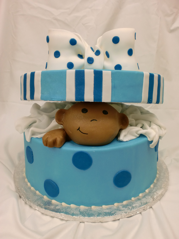 Baby Boy Shower Cakes Albertsons