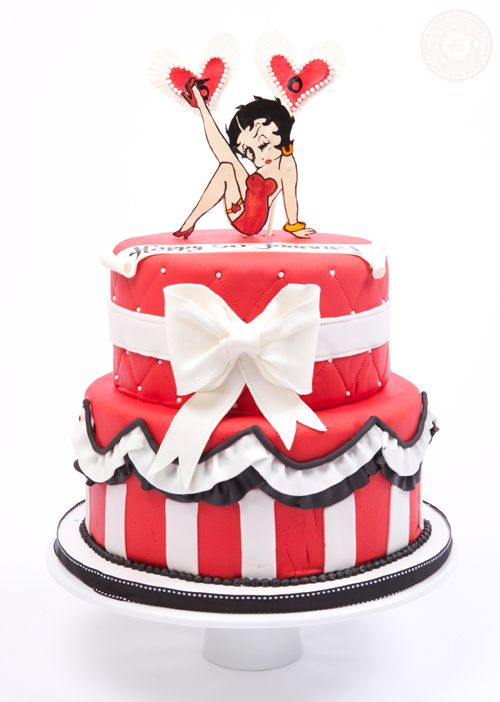 Swell 5 33 Betty Boop Adult Birthday Cakes Photo Betty Boop Birthday Funny Birthday Cards Online Hendilapandamsfinfo