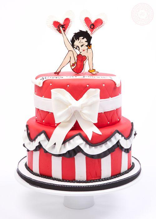 Strange 5 33 Betty Boop Adult Birthday Cakes Photo Betty Boop Birthday Personalised Birthday Cards Veneteletsinfo