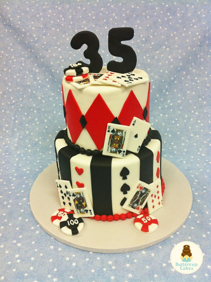 9 Deck Of Cards For Cakes Edible Photo Playing Card Cake