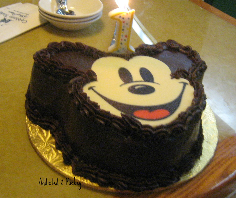 Birthday Cakes At Walt Disney World