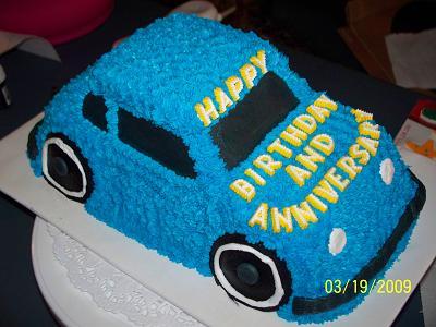 9 Photos of Easy To Make Car Cakes