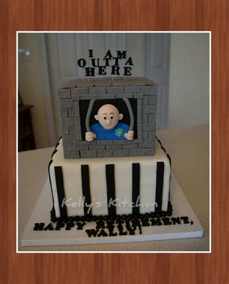 Correctional Officer Retirement Cake