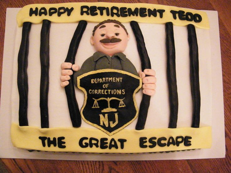 11 Photos of Prison Retirement Sheet Cakes