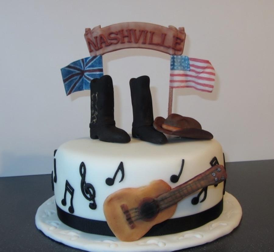 Brilliant 7 Country Music Birthday Cakes Photo Country Music Themed Funny Birthday Cards Online Elaedamsfinfo
