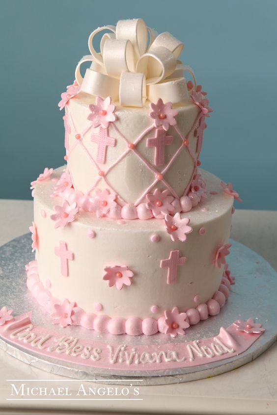 12 Photos of Communion Cakes For Girls Unique