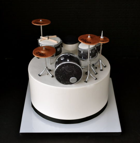 11 Photos of Drum Set Sheet Cakes