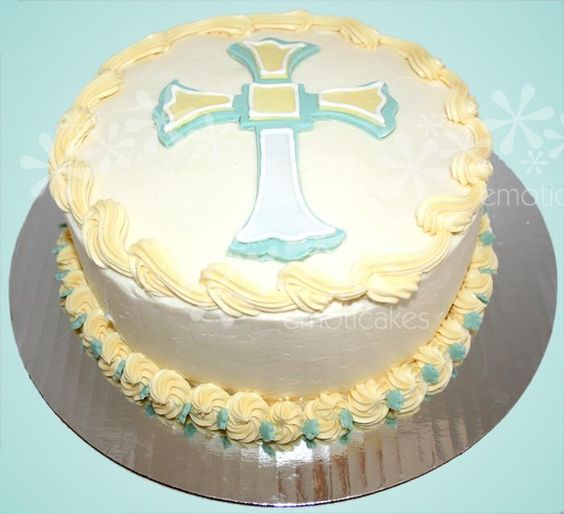 Easter Cross Cake Fondant