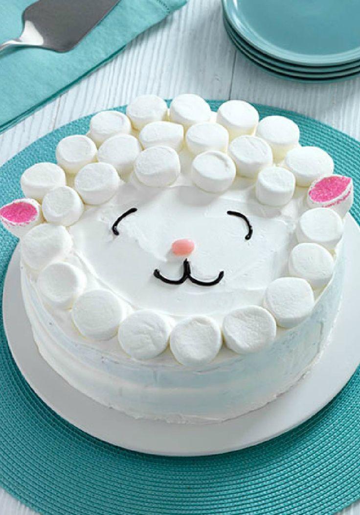 Easter Lamb Cake