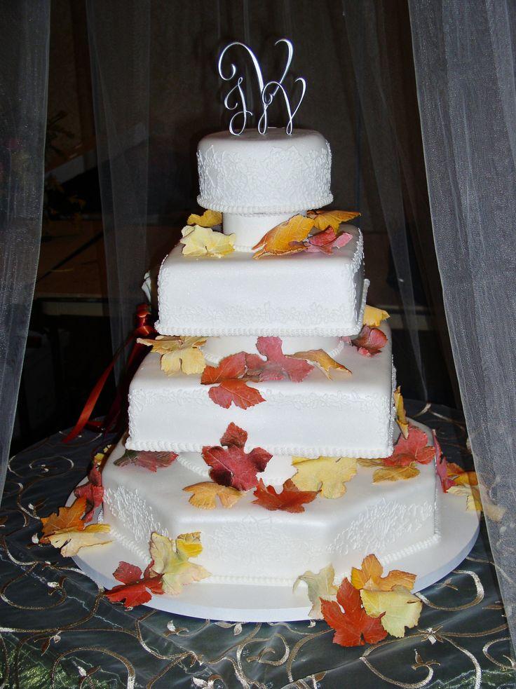 11 Photos of Edible Fondant Fall Cakes