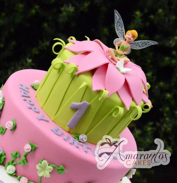 11 1st Birthday Cakes Baby Fairy Photo