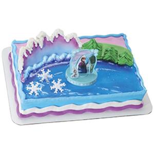 Frozen Birthday Cake Decorations
