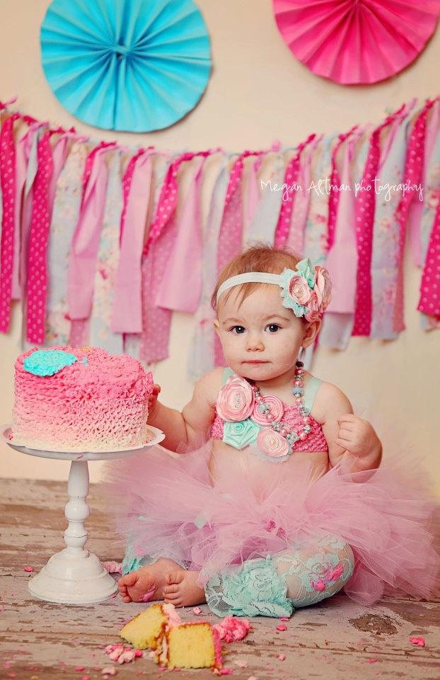 Fantastic 6 Girls Birthday Smash Cakes Photo Baby Girl First Birthday Personalised Birthday Cards Bromeletsinfo