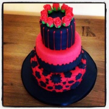 Goth Birthday Cake
