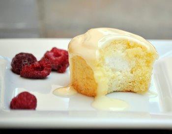 Orange Creamsicle Cream Filled Cupcakes