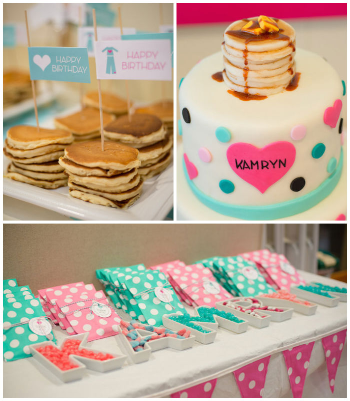 Pancake and Pajama Party Ideas