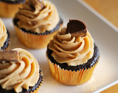 11 Photos of Peanut Butter And Cream Cheese Cupcakes