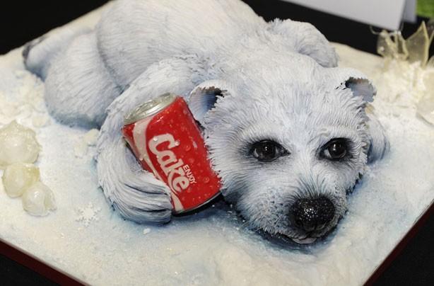 10 Photos of Realistic Polar Bear Cakes