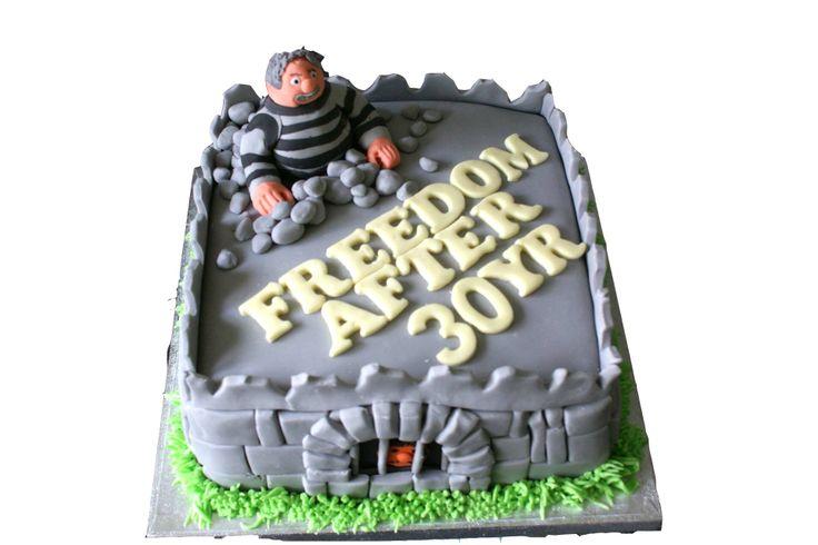 Prison Officer Retirement Cake