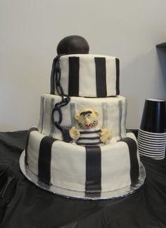 Prison Retirement Cakes