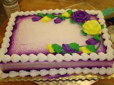 6 Photos of Sprayed Sheet Cakes