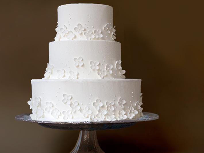 11 Simple White Wedding Cakes Ideas Photo Wedding Cake With White