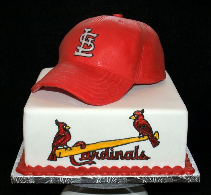 Fabulous 11 Cardinal Baseball Happy Birthday Cakes Photo St Louis Funny Birthday Cards Online Amentibdeldamsfinfo