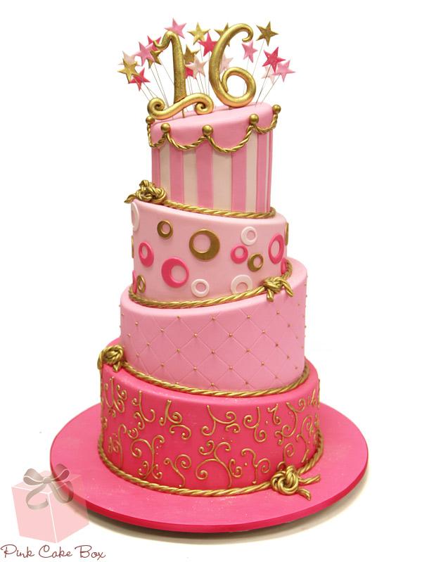 Admirable 11 Big Sweet 16 Birthday Cakes Photo Sweet 16 Birthday Cake Funny Birthday Cards Online Chimdamsfinfo
