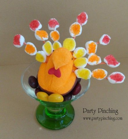 Thanksgiving Peeps Marshmallows