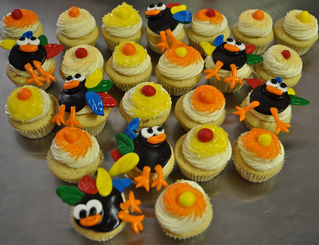 Thanksgiving-themed Mini-Cupcakes