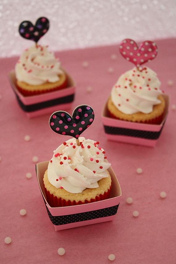 Valentine's Cupcake Decorating Ideas