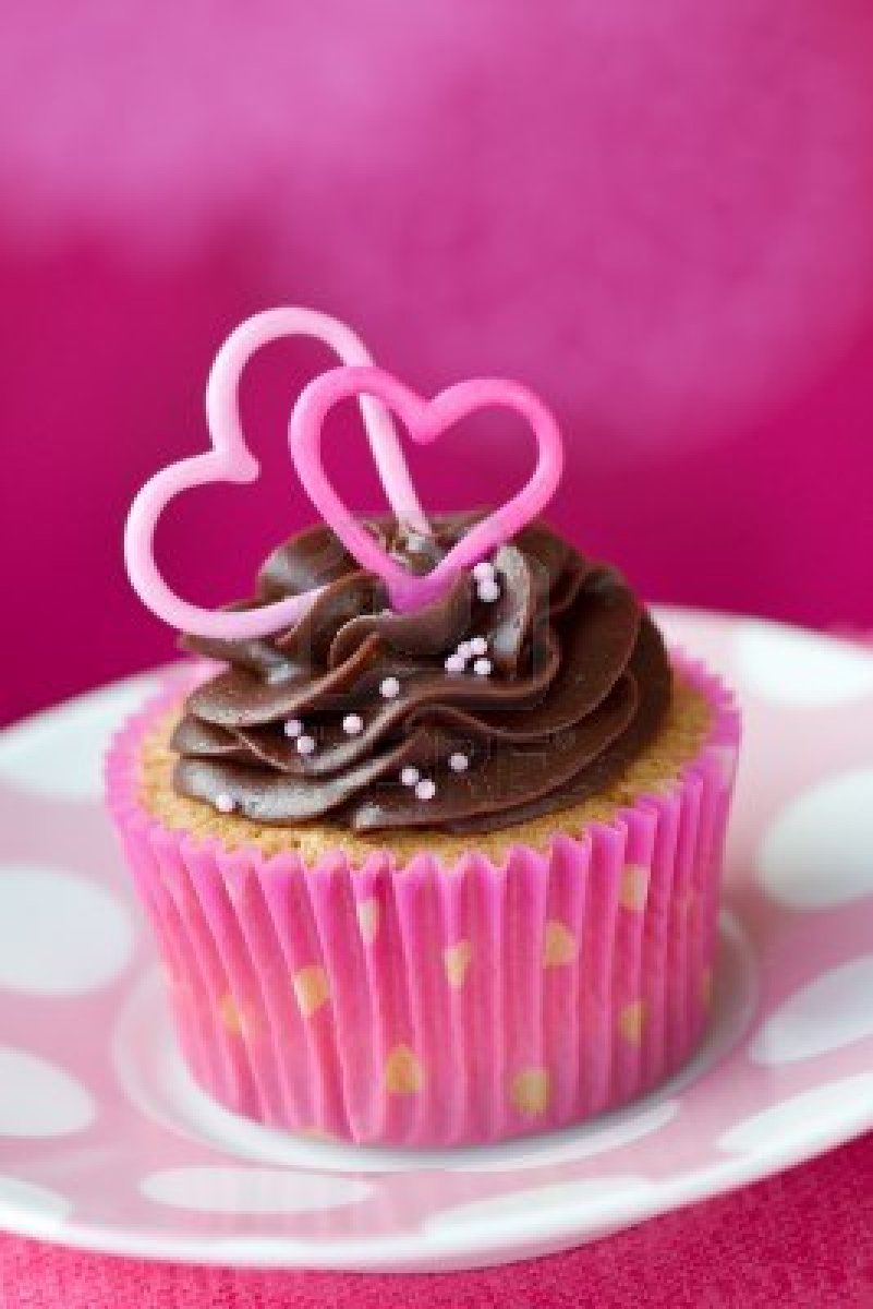 Valentine's Day Cakes and Cupcakes