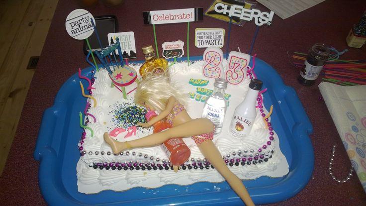 23rd Birthday Cake Ideas